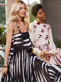 Jessica Hart Fronts New Holiday Campaign For Tory Burch