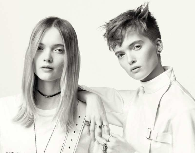 Twin Models Ruth and May Bell star in Dior\'s Newest Campaign