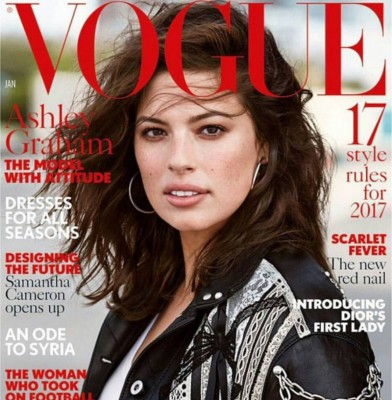 Ashley Graham lands first Vogue cover