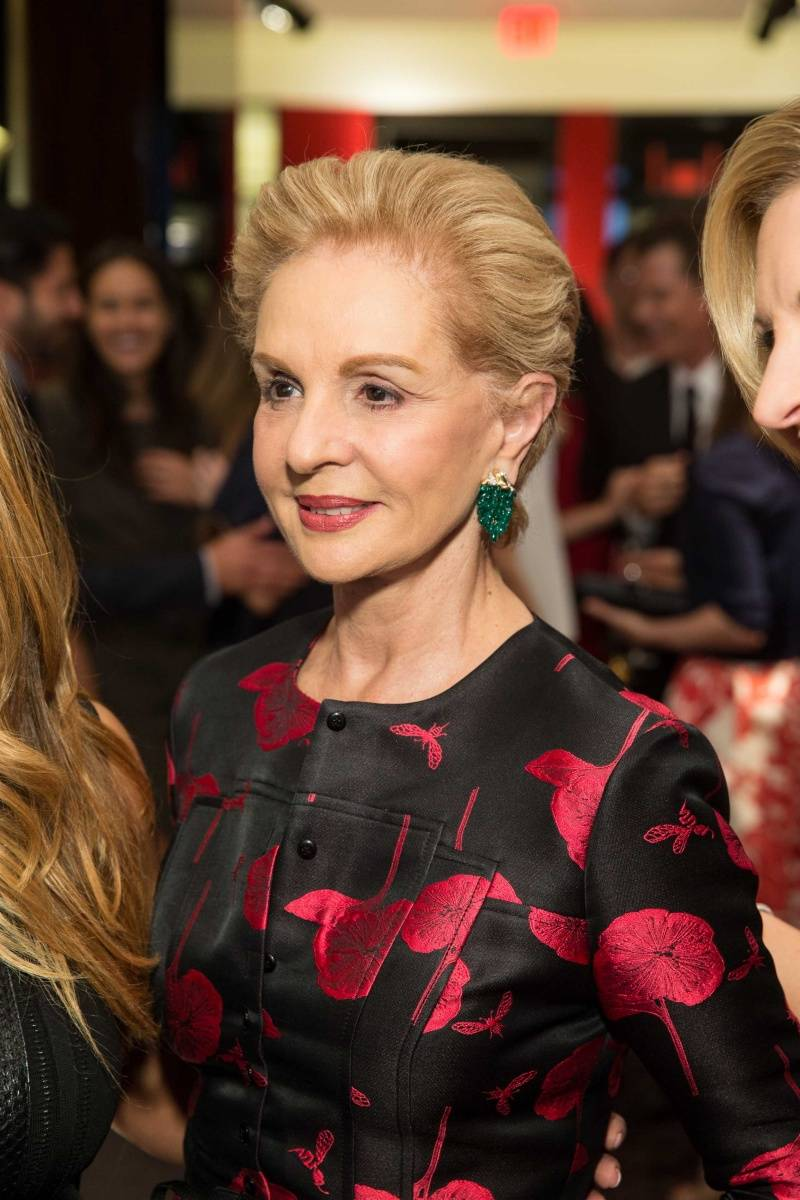 Carolina Herrera will dress Melania Trump