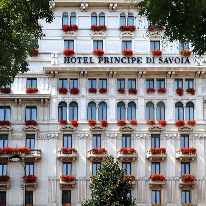 Principe di Savoia : A Crown Jewel in Italy\'s Unmissable City