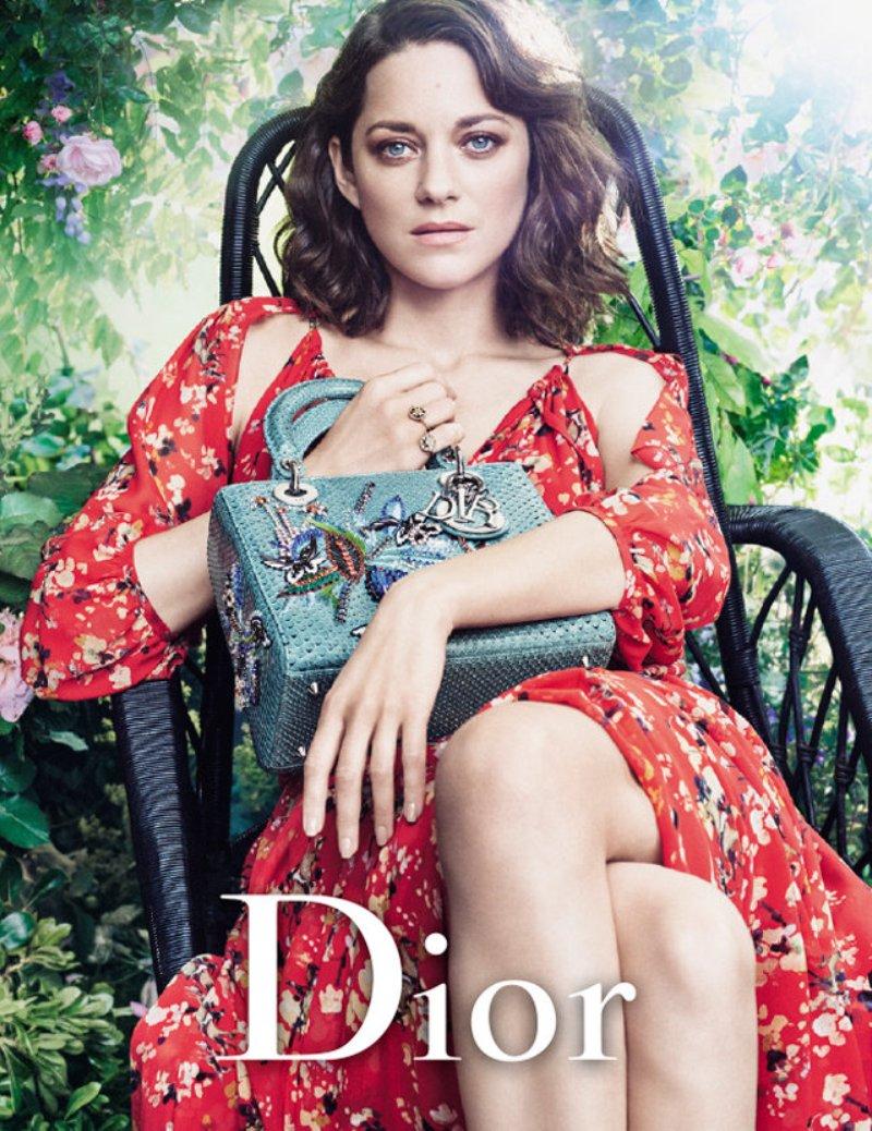 Marion Cotillard graces new Dior campaign
