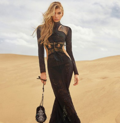 Stella Maxwell Fronts Roberto Cavalli Spring 2017 Campaign