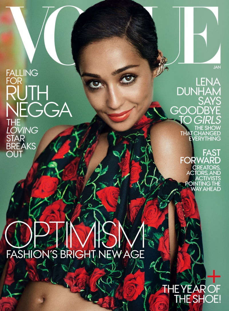 Ruth Negga is American Vogue\'s January cover star