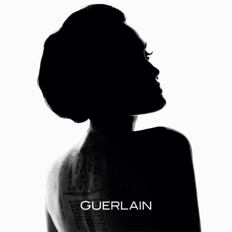 Angelina Jolie is the new face of Guerlain