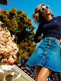 Miranda Kerr designs a denim collection