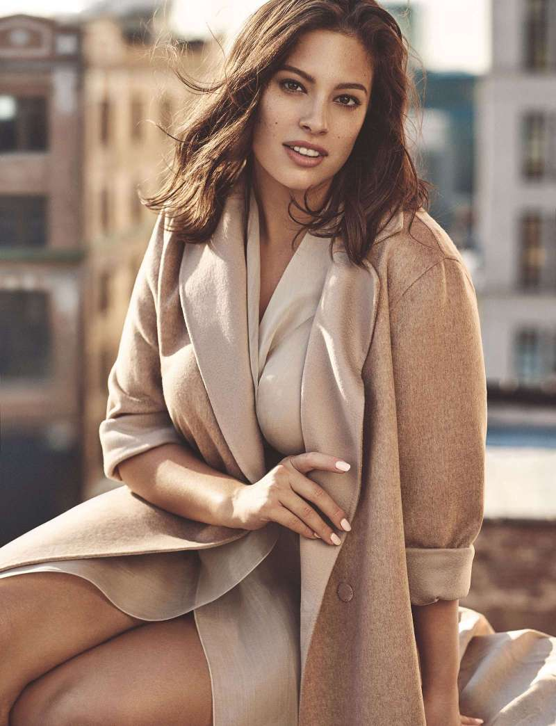 Ashley Graham is the new face of Marina Rinaldi\'s spring campaign