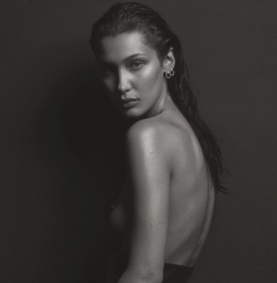 Bella Hadid Channels Kate Moss in V Magazine