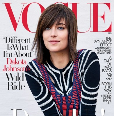 Dakota Johnson is Vogue\'s February Cover Star