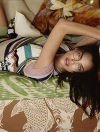 Irina Shayk fronts new Missoni campaign