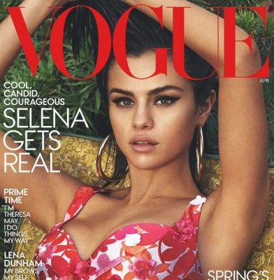 Selena Gomez Covers US Vogue\'s April 2017 Issue