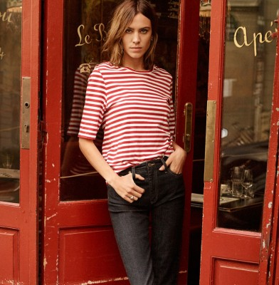 Alexa Chung stars in AG Denim\'s Spring 2017 Campaign
