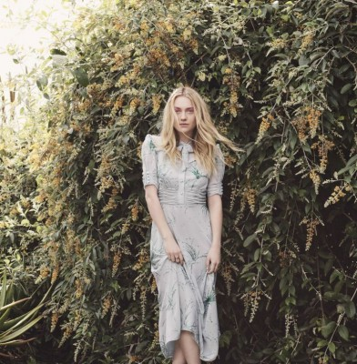 Dakota Fanning fronts Jimmy Choo Spring Fashion Shoot
