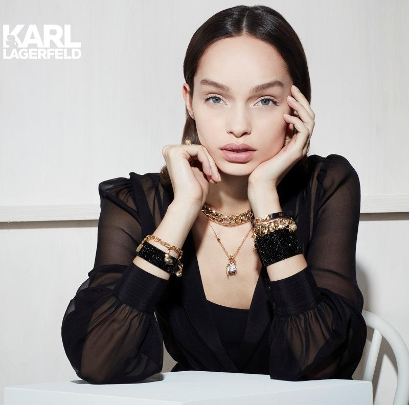 Karl Lagerfeld and Swarovski launch Fashion Jewelery Collection