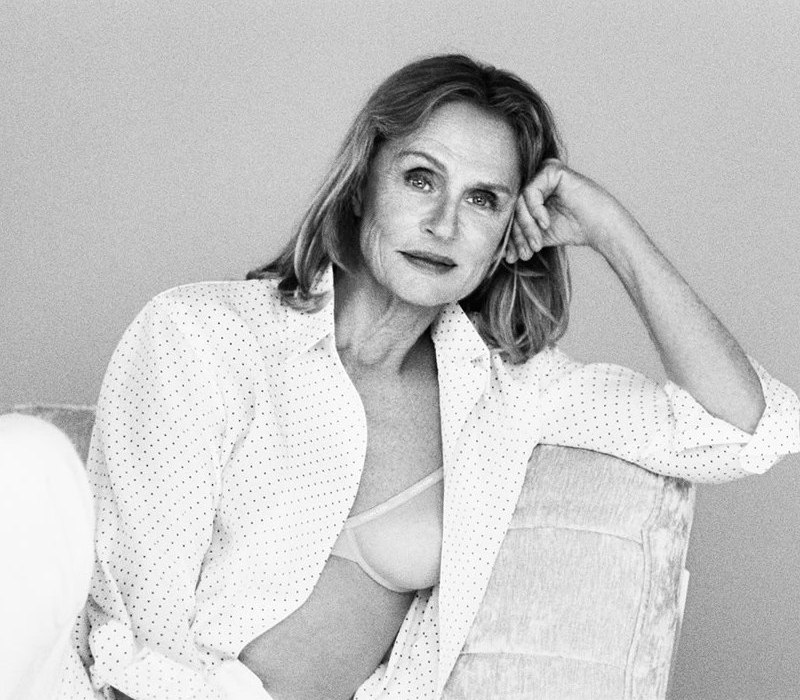 Lauren Hutton, 73, fronts Calvin Klein\'s New Underwear Campaign