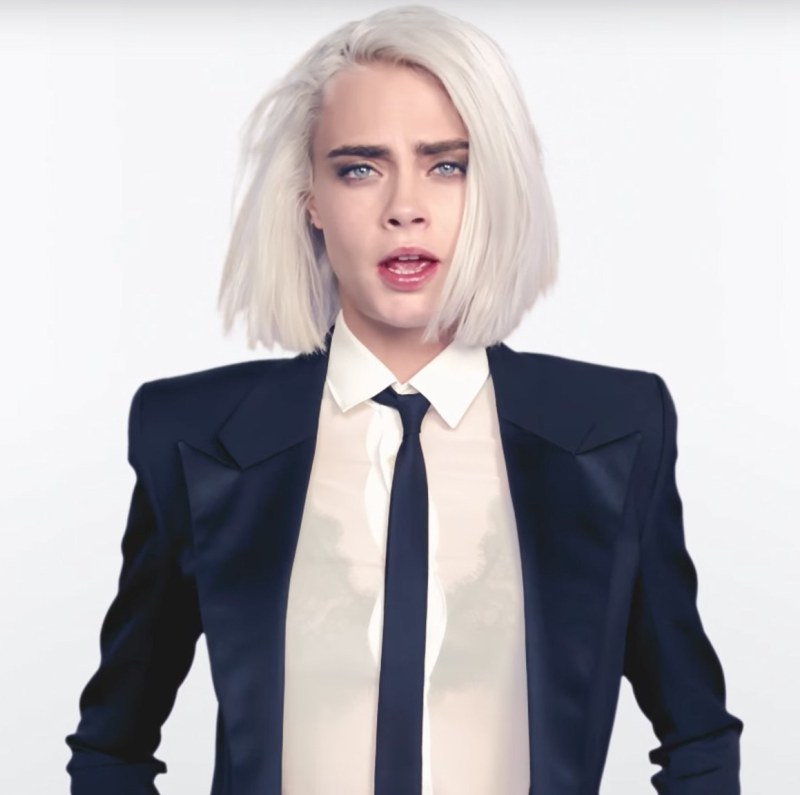 Cara Delevingne releases her first music video