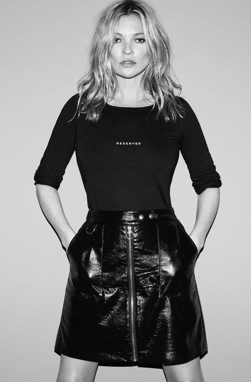 Kate Moss is the new face of Reserved