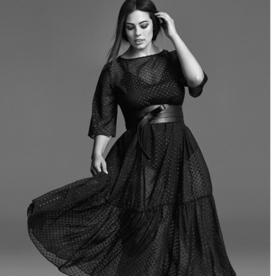 Ashley Graham Fronts Marina Rinaldi FW 2017 Ads