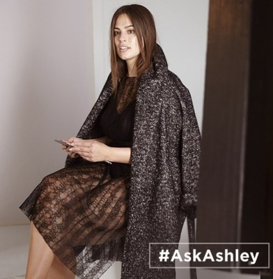 Ashley Graham designs capsule collection for Marina Rinaldi
