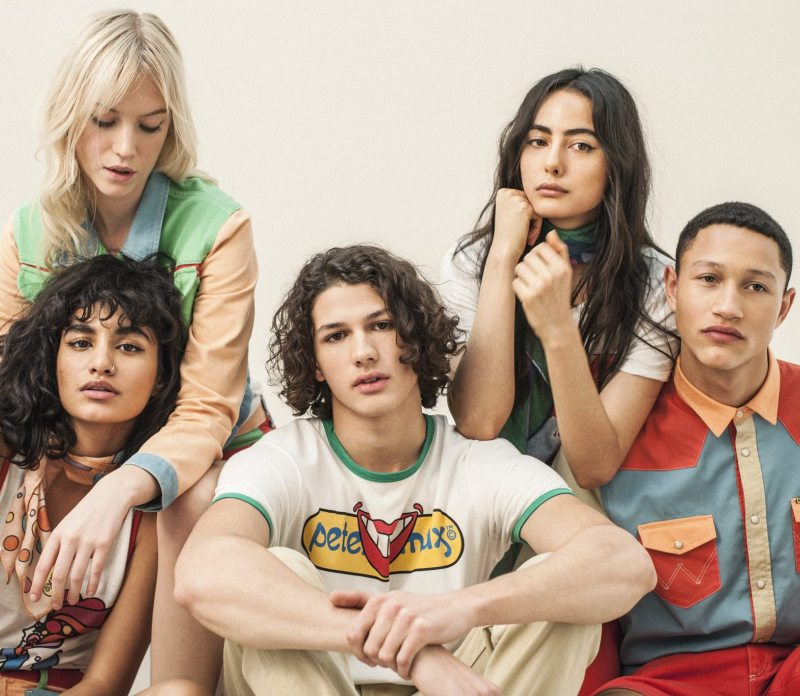 Wrangler collaborates with Peter Max for Psychedelic \'70s collection