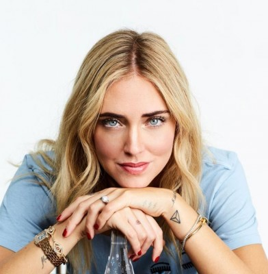 Chiara Ferragni designs Evian bottle