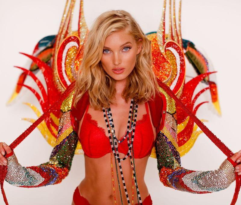 Elsa Hosk will wear the Victoria\'s Secret Swarovski outfit