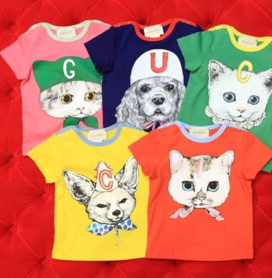 Gucci collaborates with Japanese artist Yuko Higuchi on children\'s line