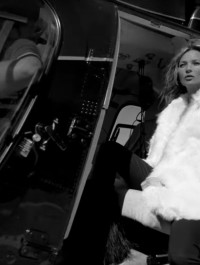 Kate Moss Models For Saint Laurent