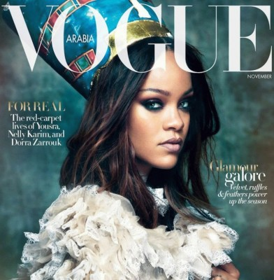 Rihanna fronts Vogue Arabia\'s November issue