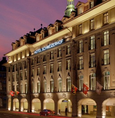 THE HOTEL SCHWEIZERHOF BERN & THE SPA: The Epitome of Decadence and Tradition