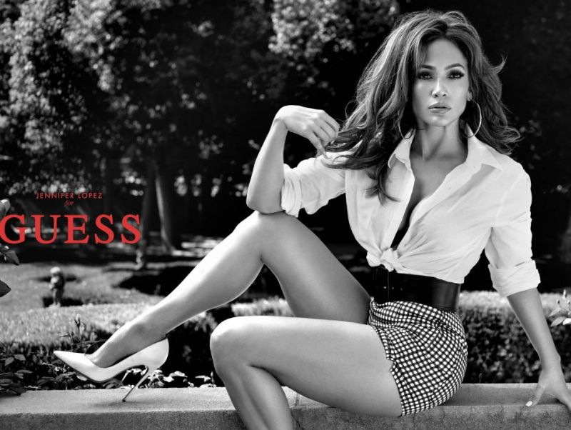 Jennifer Lopez is the new face of Guess