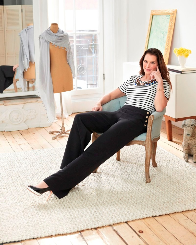 Brooke Shields launches her first own collection