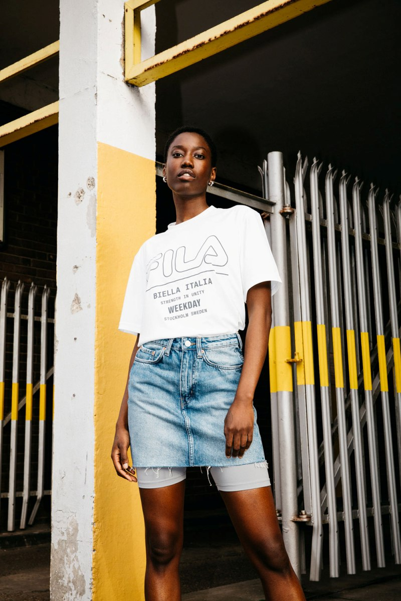Weekday and Fila collaborate on exclusive collection