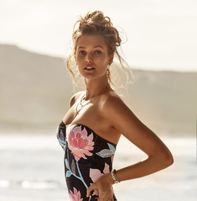 Toni Garrn is the New Face of Seafolly