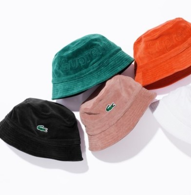 Supreme and Lacoste launch second collection