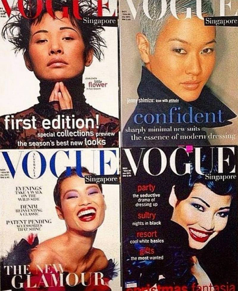 The Story of Vogue Singapore and Asia\'s First Supermodels