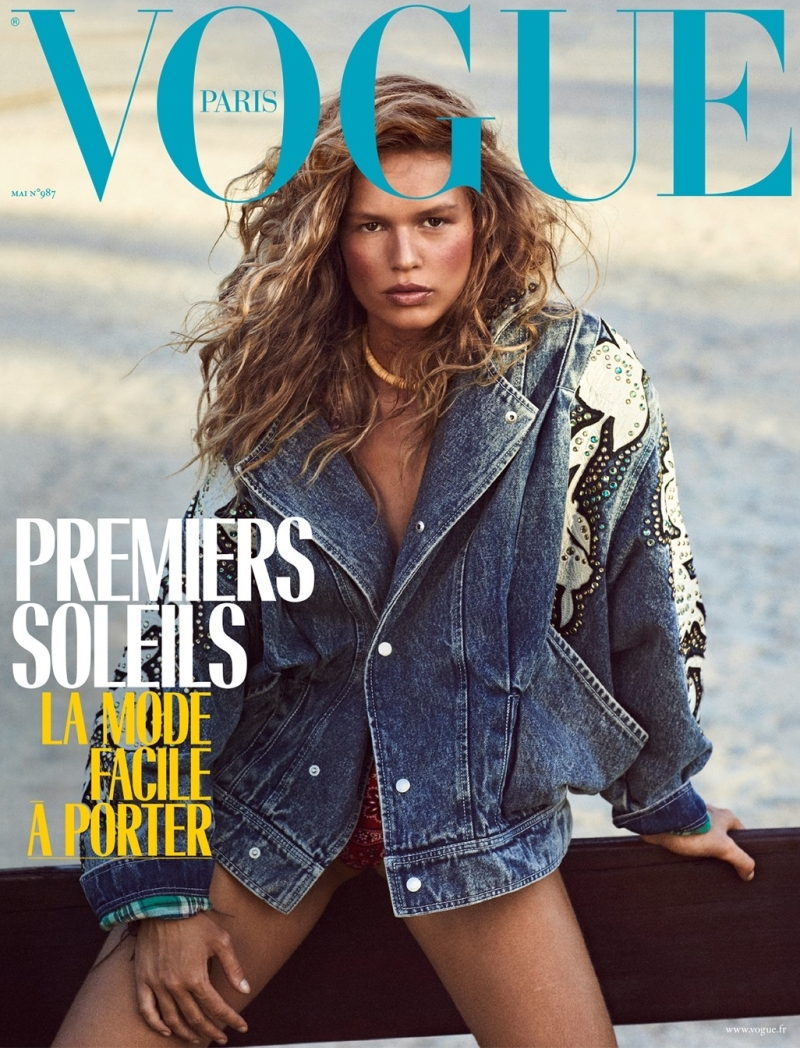 Anna Ewers Is Vogue Paris\'s May Cover Star