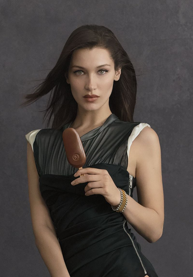 Bella Hadid and Alexander Wang are the new faces of Magnum