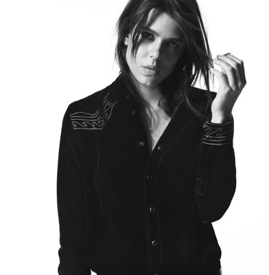 Charlotte Casiraghi stars in Saint Laurent\'s Fall Campaign