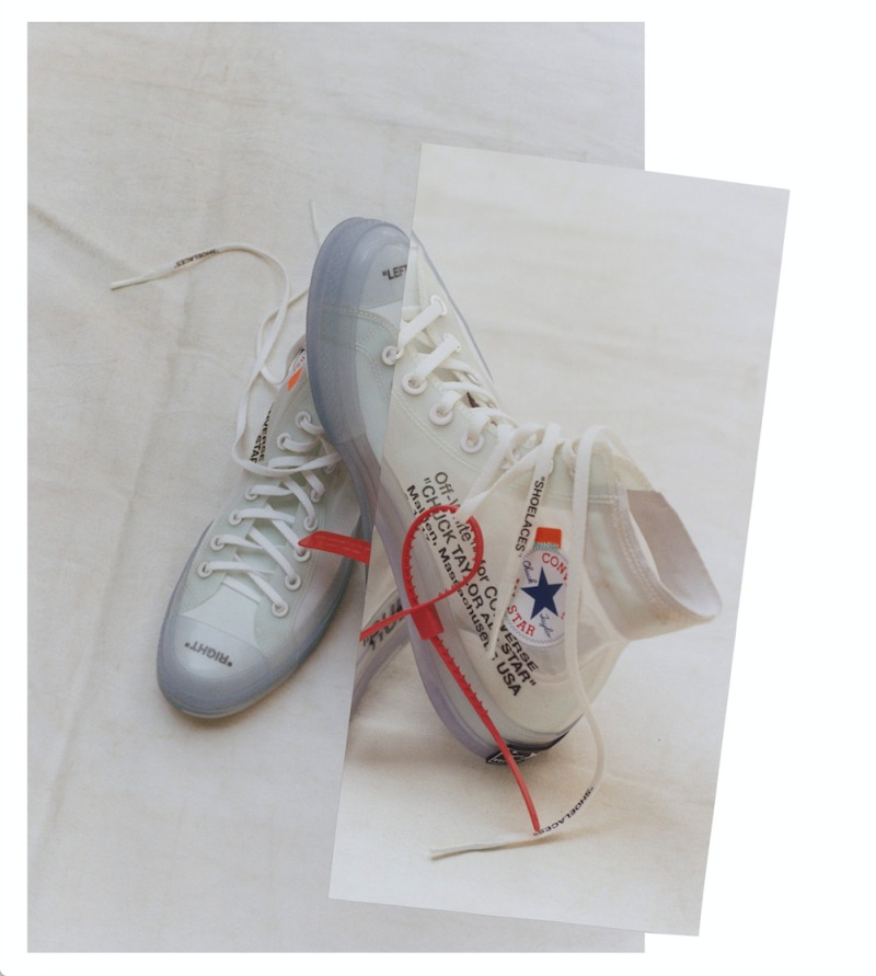 Virgil Abloh and Converse Collaborate on Limited Edition Sneaker
