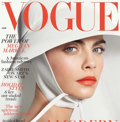 Cara Delevingne is British Vogue\'s June Cover Star
