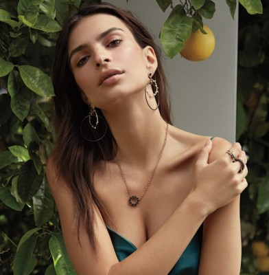 Emily Ratajkowski designs fine Jewellery Collection