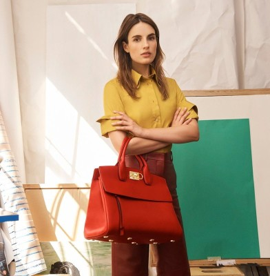Ferragamo Unveils First Bag by Creative Director Paul Andrew