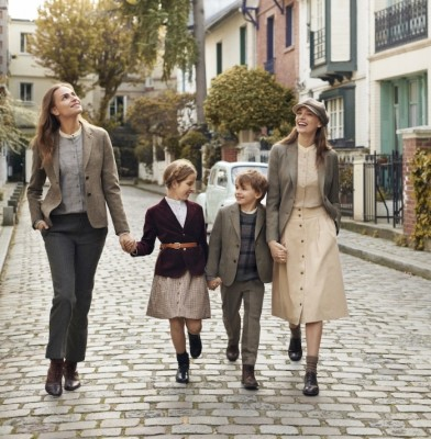 Ines de la Fressange teams up with Uniqlo for children\'s collection