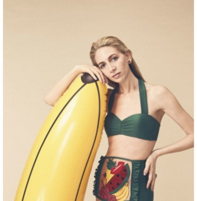 Charlotte Olympia & Adriana Degreas collaborate on Swimwear Collection