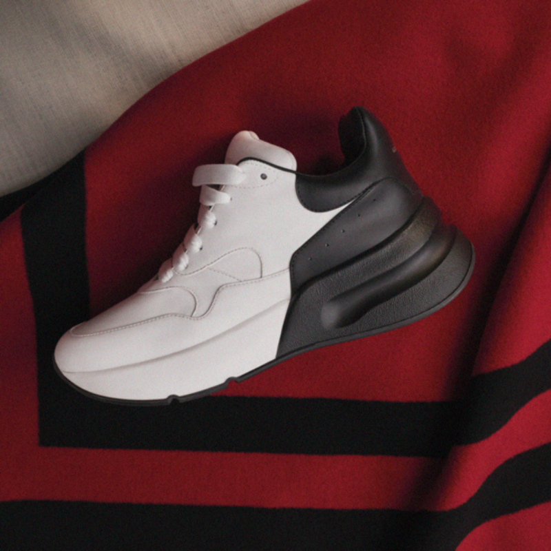 Alexander McQueen launches new oversized sneaker model