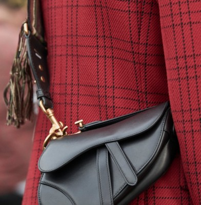 Dior re-launches Iconic Saddle Bag