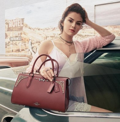 Coach x Selena Gomez Collection Is Finally Here