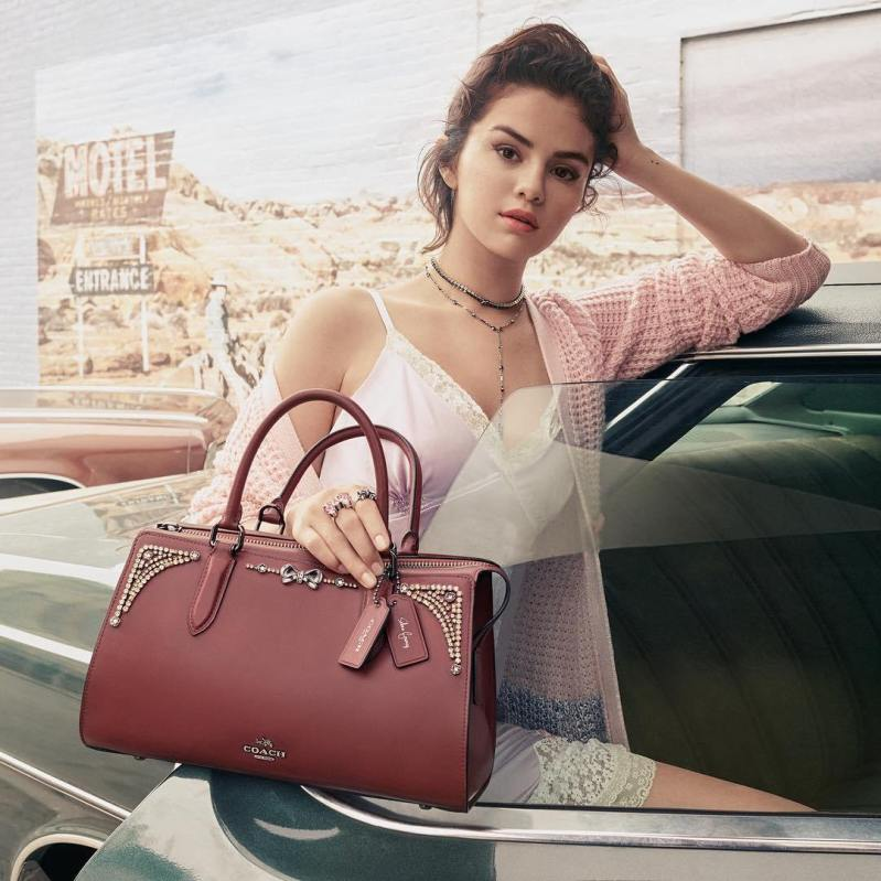 Coach x Selena Gomez Collection Is Finally Here  b8a04abffc182