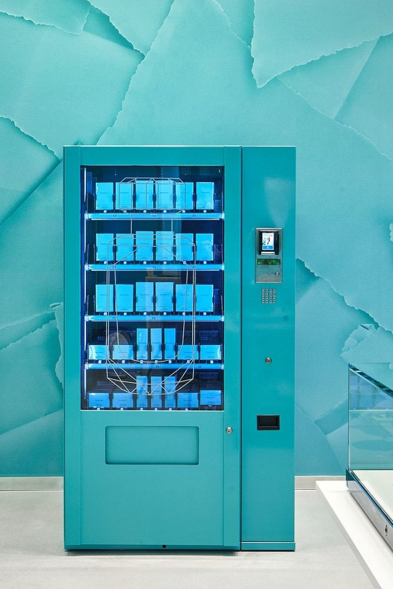 Tiffany & Co. introduces vending machine in London Store